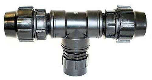 Ibc adapter s mm to compression pipe