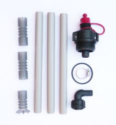 """IBC Adapter H//D 3//4/"""" to STEPPED Hose Tail 1/"""" 1.1//4/"""" Tank Bio Diesel Fuel"""